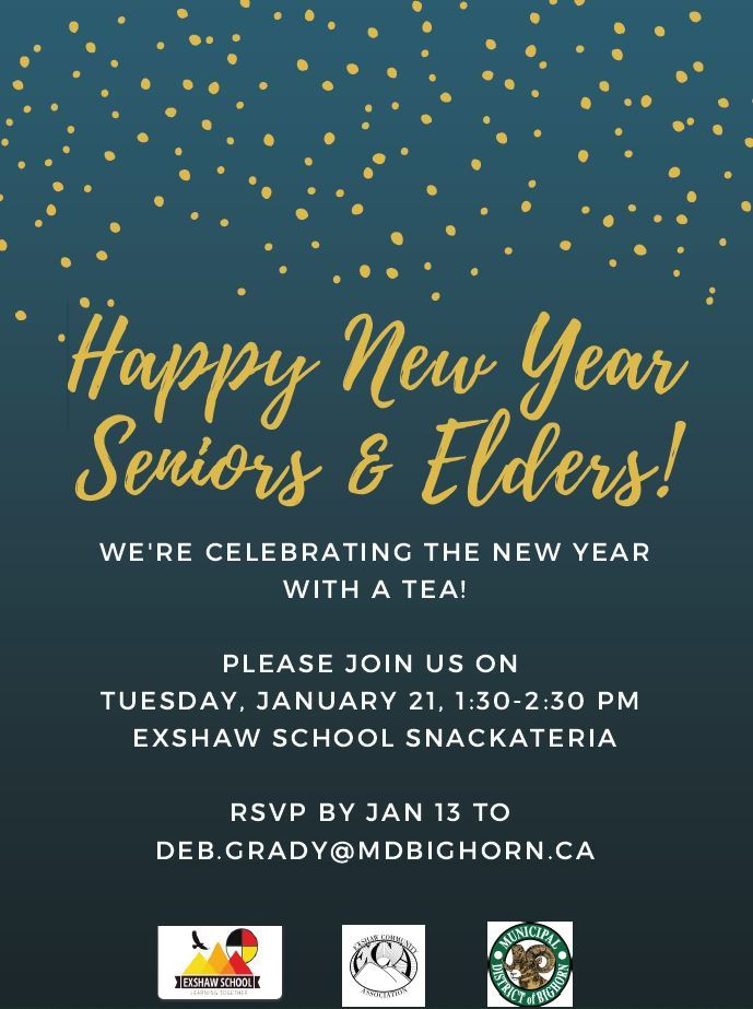 2020 New Year Sr Elder Tea