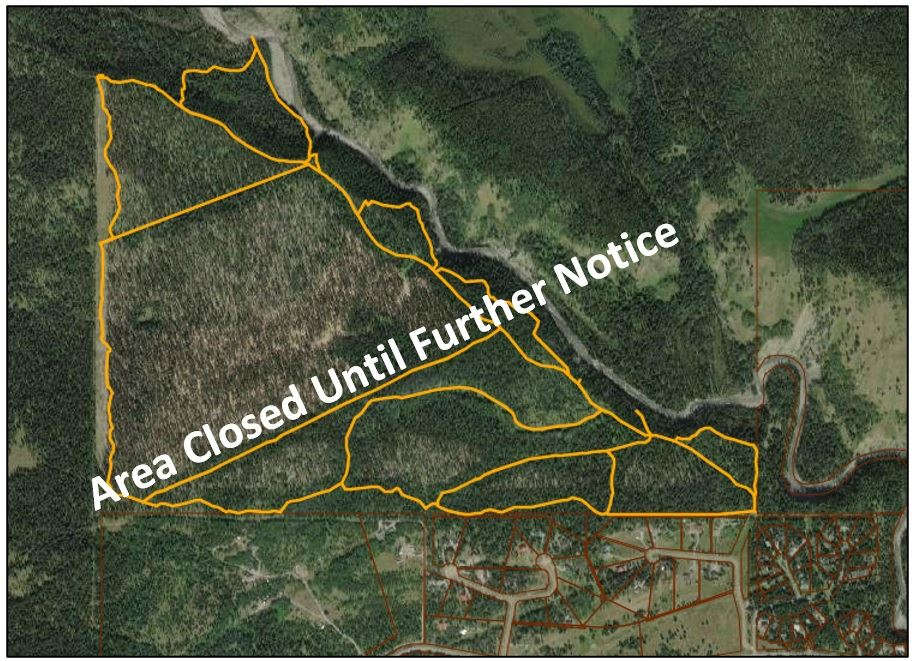 Back 40 Trail Closure